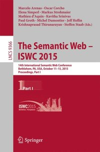 Semantic Web - ISWC 2015 (e-bok)