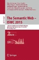 The Semantic Web - ISWC 2015 (häftad)