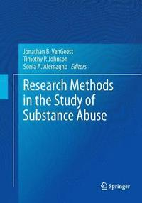 Research Methods in the Study of Substance Abuse (häftad)
