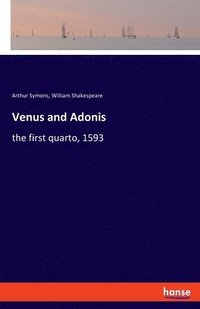 Venus and Adonis (häftad)