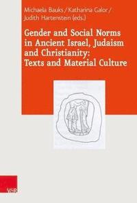 Gender and Social Norms in Ancient Israel, Early Judaism and Early Christianity (inbunden)