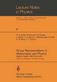 Group Representations in Mathematics and Physics (häftad)