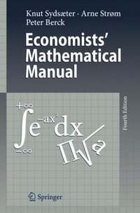 Economists' Mathematical Manual (e-bok)