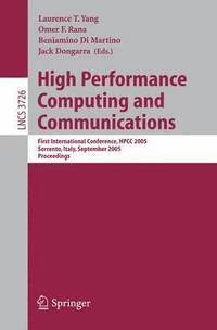 High Performance Computing and Communications (häftad)
