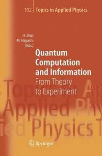 Quantum Computation and Information (inbunden)