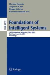 Foundations of Intelligent Systems (häftad)