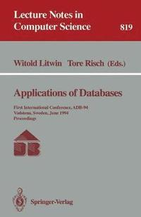 Applications of Databases (häftad)