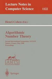 Algorithmic Number Theory (häftad)