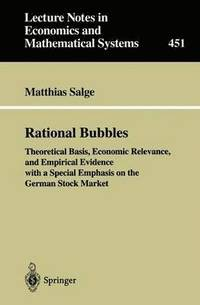 Rational Bubbles (häftad)