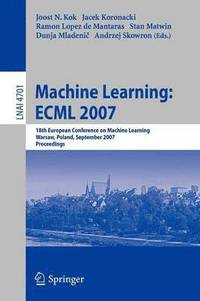 Machine Learning: ECML 2007 (häftad)