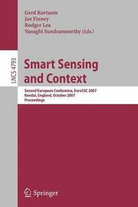Smart Sensing and Context (häftad)