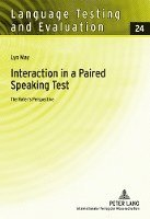 Interaction in a Paired Speaking Test (inbunden)