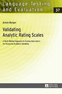 Validating Analytic Rating Scales (inbunden)