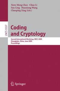 Coding and Cryptology (e-bok)