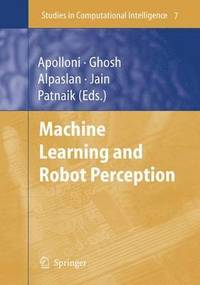 Machine Learning and Robot Perception (häftad)