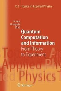 Quantum Computation and Information (häftad)