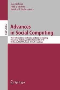 Advances in Social Computing (häftad)