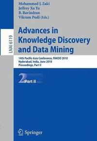 Advances in Knowledge Discovery and Data Mining, Part II (häftad)