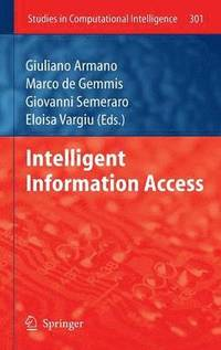 Intelligent Information Access (inbunden)