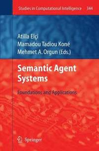 Semantic Agent Systems (häftad)
