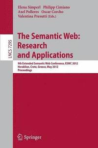 The Semantic Web: Research and Applications (häftad)