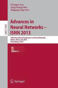 Advances in Neural Networks- ISNN 2013 (häftad)