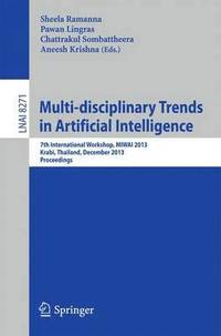 Multi-disciplinary Trends in Artificial Intelligence (häftad)
