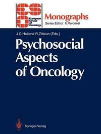 Psychosocial Aspects of Oncology (häftad)