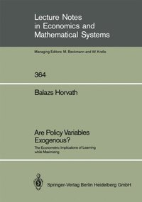 Are Policy Variables Exogenous? (e-bok)