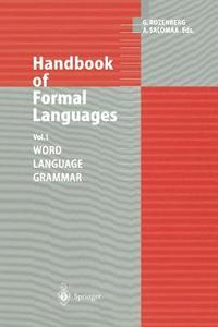 Handbook of Formal Languages (häftad)