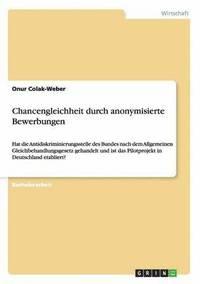 chancengleichheit durch anonymisierte bewerbungen hftad - Anonymisierte Bewerbung