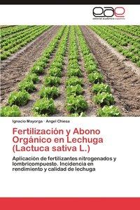 fertilizacion y abono organico en lechuga lactuca sativa l hftad - Abono Organico