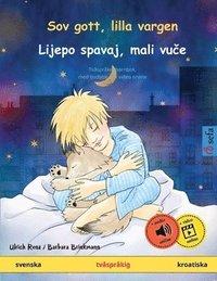 Skopia.it Sov gott, lilla vargen - Lijepo spavaj, mali vu?e (svenska - kroatiska) Image