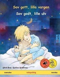 Skopia.it Sov gott, lilla vargen - Sov godt, lille ulv (svenska - norska) Image