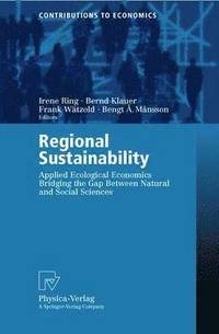 Regional Sustainability (häftad)
