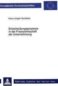 FINANZWIRTSCHAFT DER UNTERNEHMUNG EBOOK