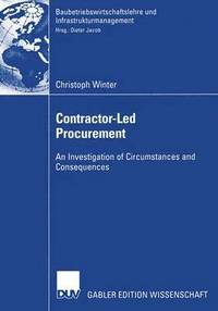 Contractor-Led Procurement (häftad)