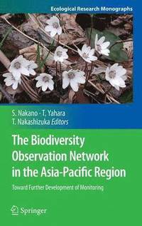 The Biodiversity Observation Network in the Asia-Pacific Region (inbunden)