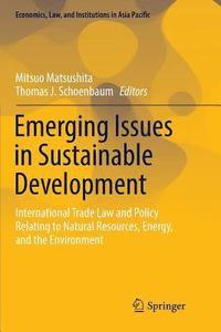 Emerging Issues in Sustainable Development (häftad)