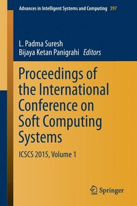 Proceedings of the International Conference on Soft Computing Systems (häftad)