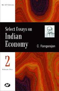 Select Essays on Indian Economy (inbunden)