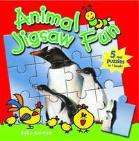 Farm Animals: Animal Jigsaw Fun (kartonnage)