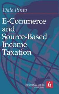 e commerce and taxation E-commerce and internet sales taxes possibly the most contentious area in sales taxation today the arguments for and against the taxation of internet sales.