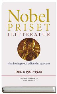 Skopia.it Nobelpriset i litteratur. Del I och II : Nomineringar och utlåtanden 1901-1950 Image