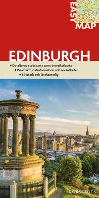 Edinburgh EasyMap stadskarta : 1:15500