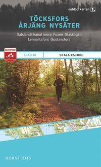 Skopia.it Outdoorkartan Töcksfors Årjäng Nysäter : Blad 16 skala 1:50000 Image