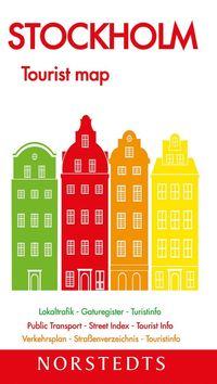 Stockholm Tourist map : 1:13000
