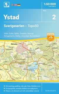 Tortedellemiebrame.it 2 Ystad Sverigeserien Topo50 : Skala 1:50 000 Image