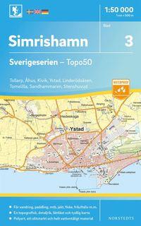 Radiodeltauno.it 3 Simrishamn Sverigeserien Topo50 : Skala 1:50 000 Image