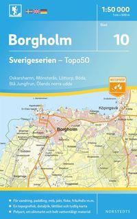 Radiodeltauno.it 10 Borgholm Sverigeserien Topo50 : Skala 1:50 000 Image